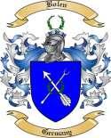 Bolen Family Crest from Germany