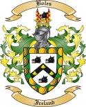Boles Family Crest from Ireland