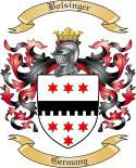 Bolsinger Family Crest from Germany