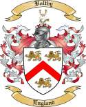 Boltby Family Crest from England