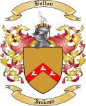 Bolton Family Crest from Ireland