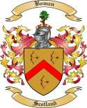 Boman Family Crest from Scotland
