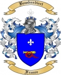 Bombardiert Family Crest from France