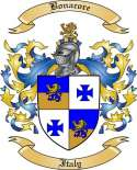 Bonacore Family Crest from Italy