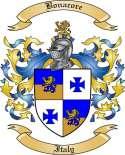 Bonacore Family Crest from Italy