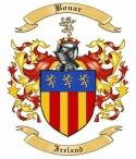 Bonar Family Crest from Ireland