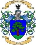 Bonaventura Family Crest from Italy