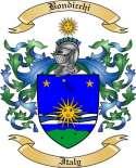 Bondicchi Family Crest from Italy