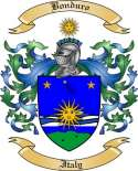 Bonduro Family Crest from Italy