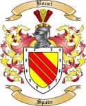 Bonel Family Crest from Spain