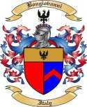 Bongiovanni Family Crest from Italy
