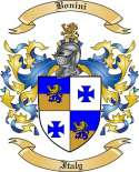 Bonini Family Crest from Italy2