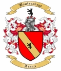 Boniscavage Family Crest from France