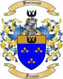 Bonnaud Family Crest from France