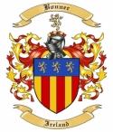 Bonner Family Crest from Ireland