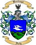 Bontempi Family Crest from Italy