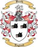 Booth Family Crest from England