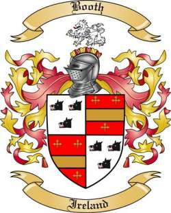 Booth Family Crest from Ireland