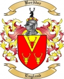 Bordder Family Crest from England