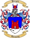 Borgele Family Crest from Germany