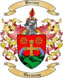 Borner Family Crest from Germany