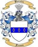 Bornier Family Crest from France
