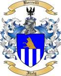 Borrelli Family Crest from Italy
