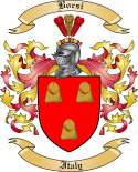 Borsi Family Crest from Italy