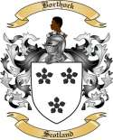 Borthock Family Crest from Scotland