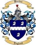Borton Family Crest from England