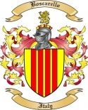 Boscarello Family Crest from Italy