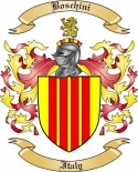 Boschini Family Crest from Italy