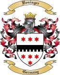 Bosinger Family Crest from Germany