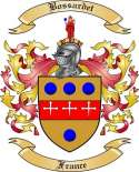 Bossardet Family Crest from France