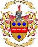 Bosshardt Family Crest from France