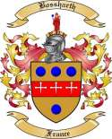 Bossharth Family Crest from France