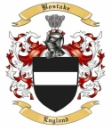 Bostake Family Crest from England