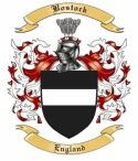 Bostock Family Crest from England