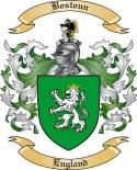 Bostoun Family Crest from England