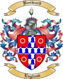 Bosward Family Crest from England