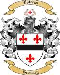 Boterus Family Crest from Germany