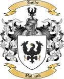 Bothe Family Crest from Holland