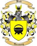 Bott Family Crest from Germany