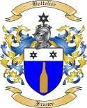 Bottelier Family Crest from France