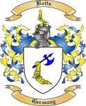 Botts Family Crest from Germany2
