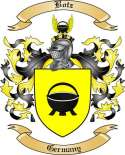 Botz Family Crest from Germany