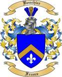 Bouchier Family Crest from France