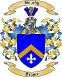 Bouchy Family Crest from France