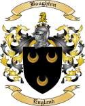 Boughton Family Crest from England2