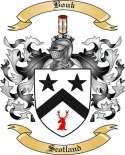 Bouk Family Crest from Scotland